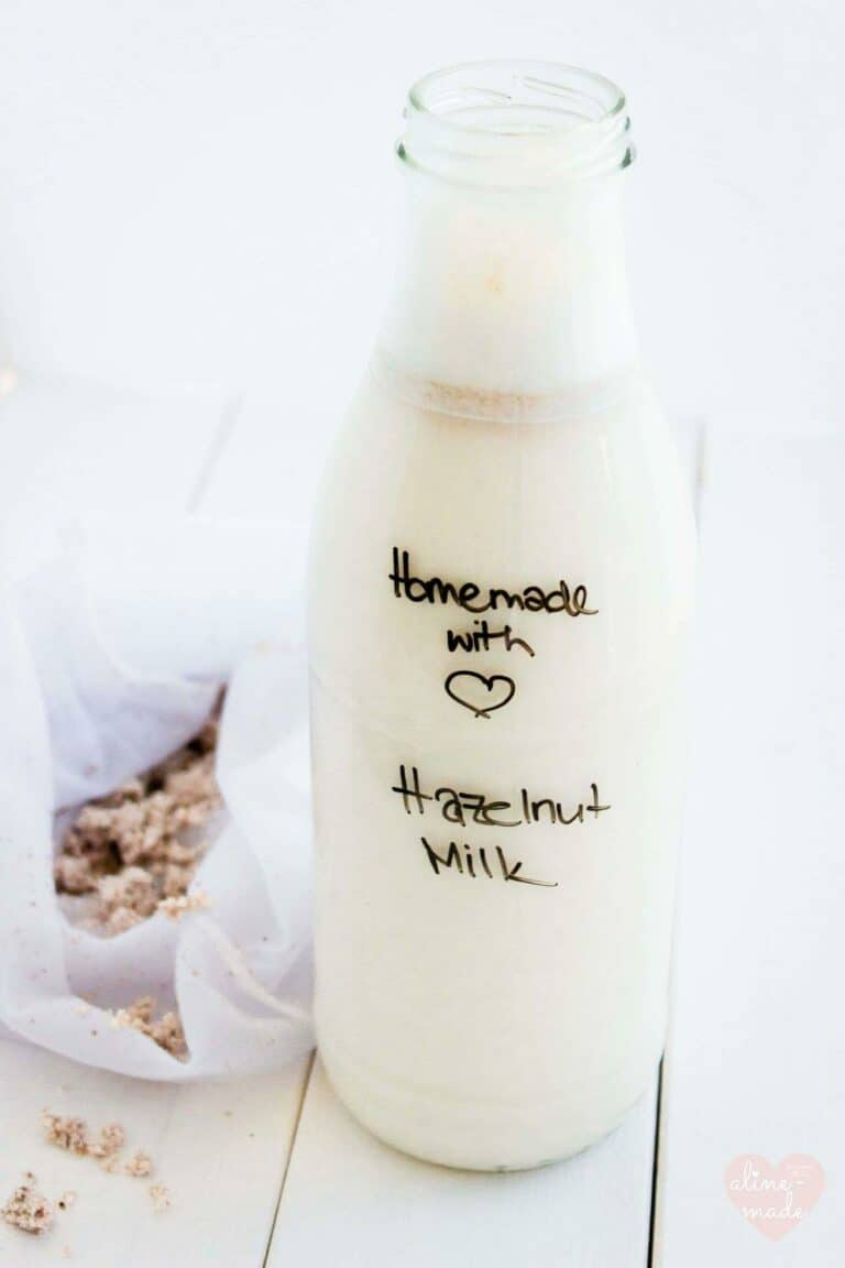 Homemade Nut Milk Recipe
