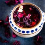 Agua de Jamaica (Hibiscus Iced Tea)