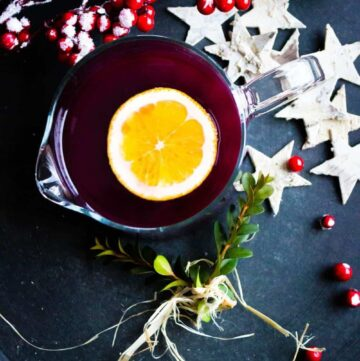 Ginger Mulled Wine