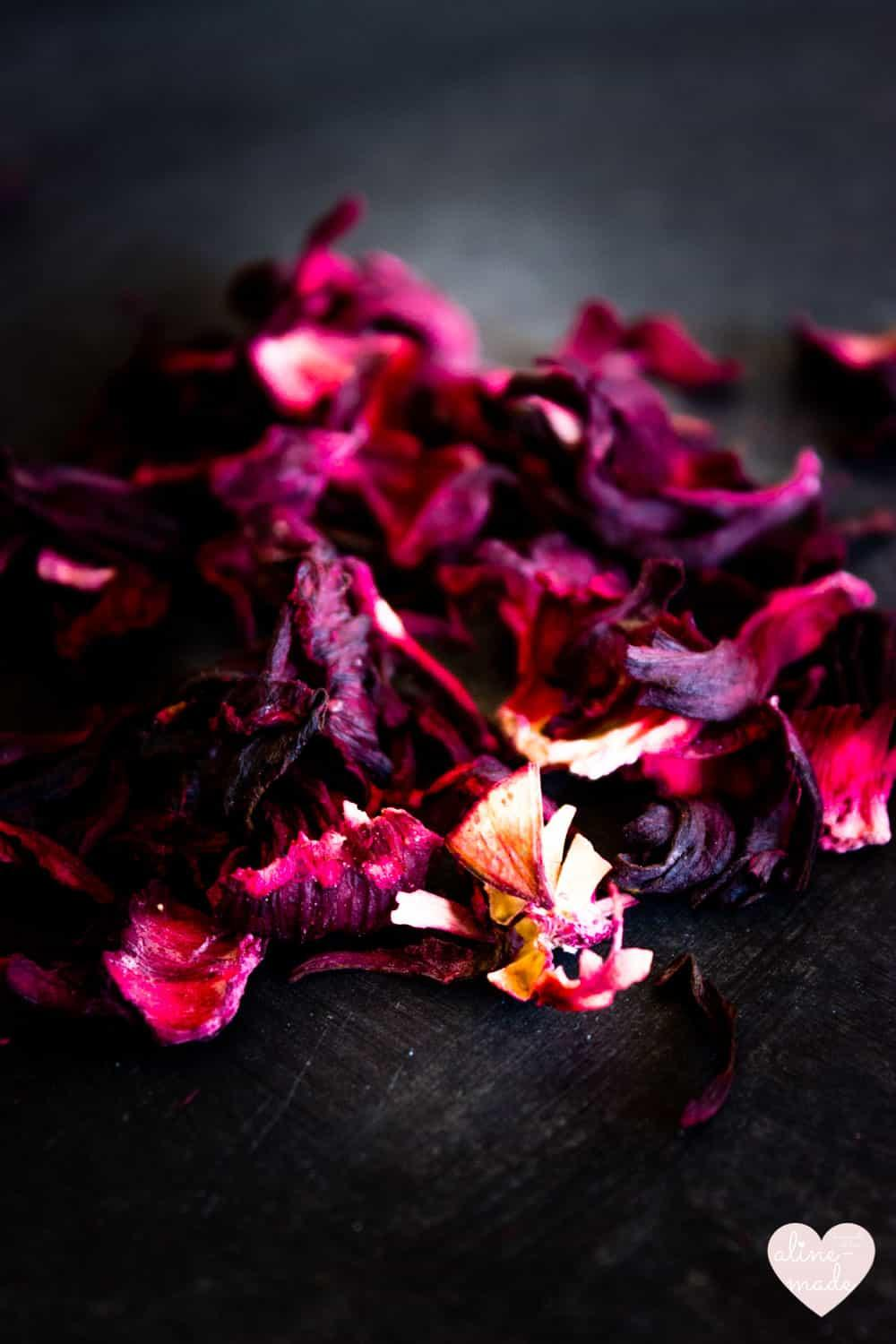Flor de Jamaica - Dried Hibiscus Flowers | Have an intense pink color & are very beautiful!