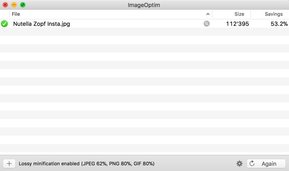 Resize Images - ImageOptim - Compressed Image
