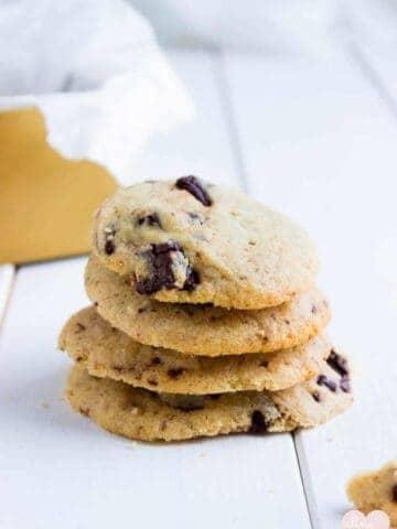 Pecan Butter Chocolate Chip Cookies