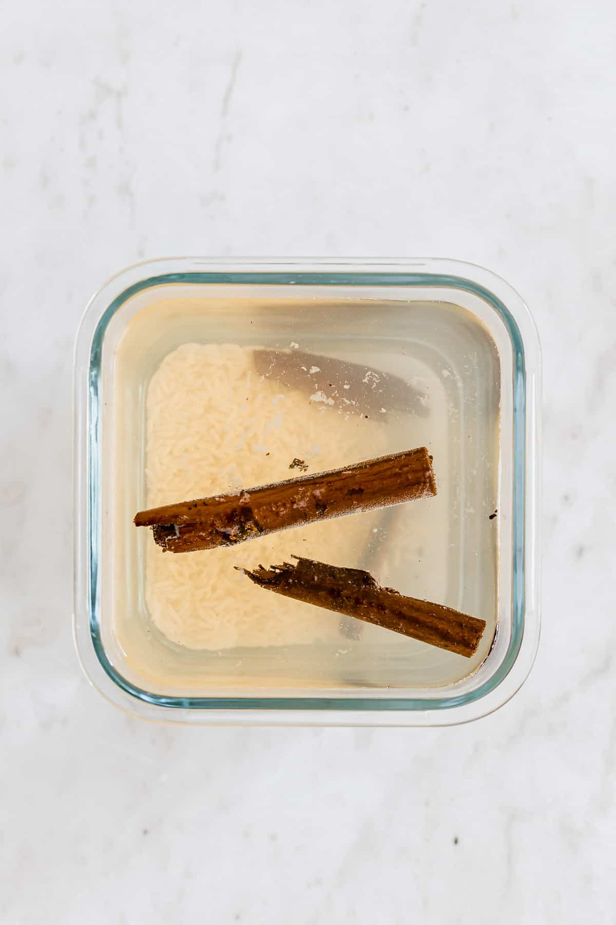 horchata rezept schritt 1