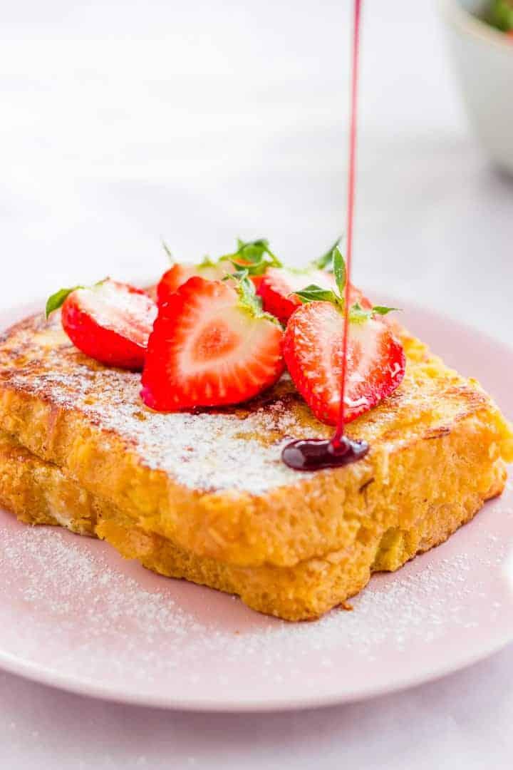 10 Minute Brioche French Toast Recipe | Aline Made