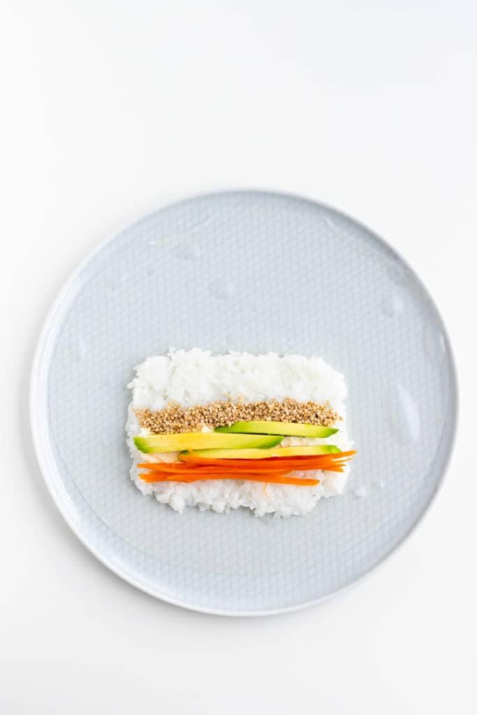 sushi rezept step 1