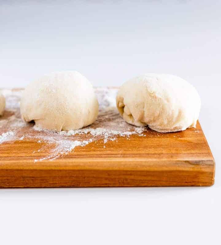 Pita Brot selber machen schritt 1