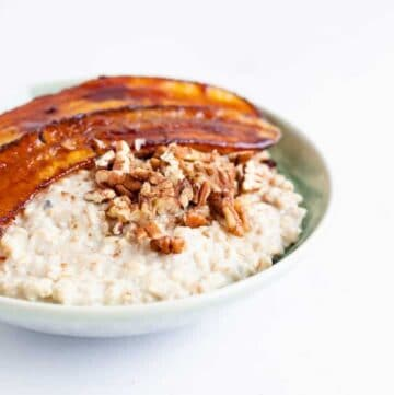Caramelized Banana Oatmeal Recipe