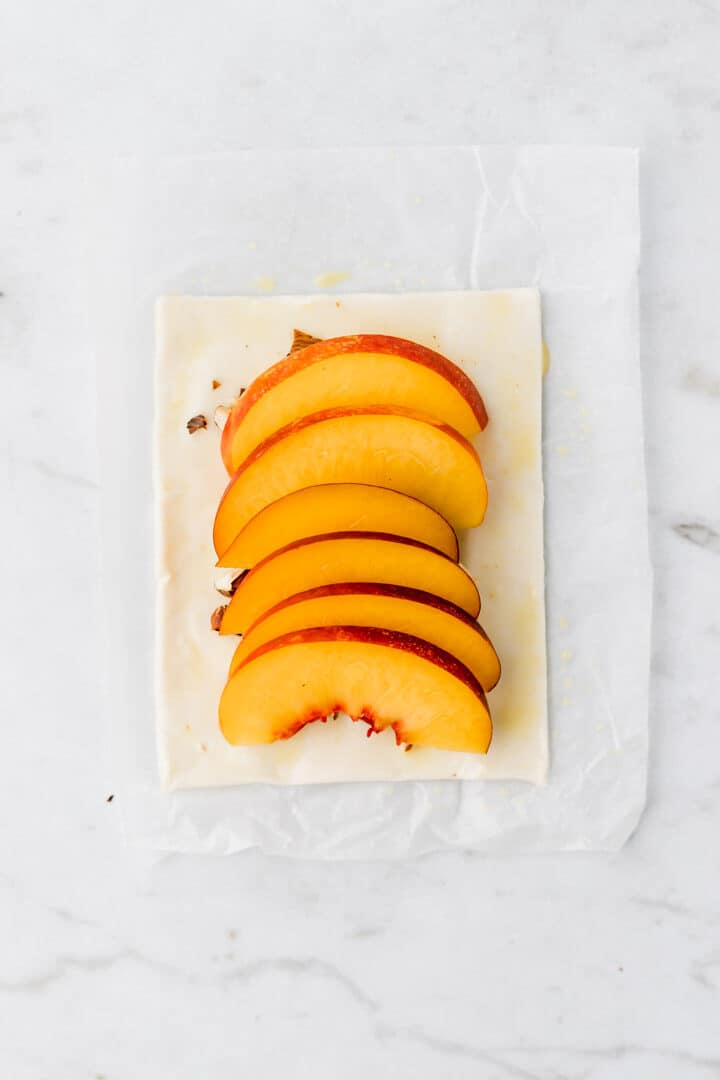 how to make peach tarts step 4