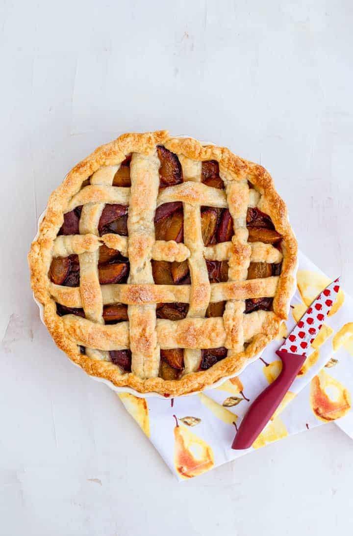 Plum Pie Recipe