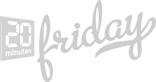 Friday Magazine Logo Grey