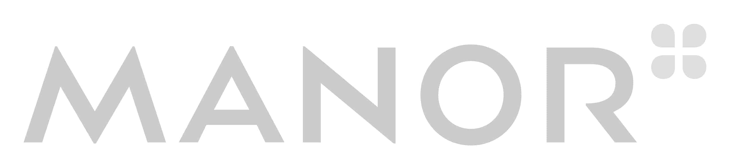 Manor Logo Grey