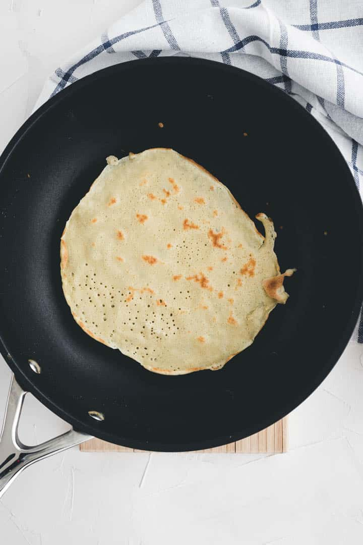 how to make basic french crepe recipe step 5