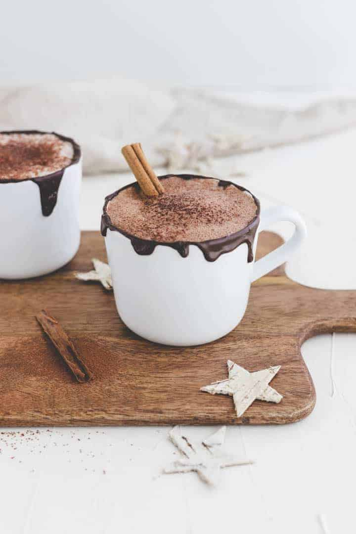 how to make vegan hot chocolate recipe