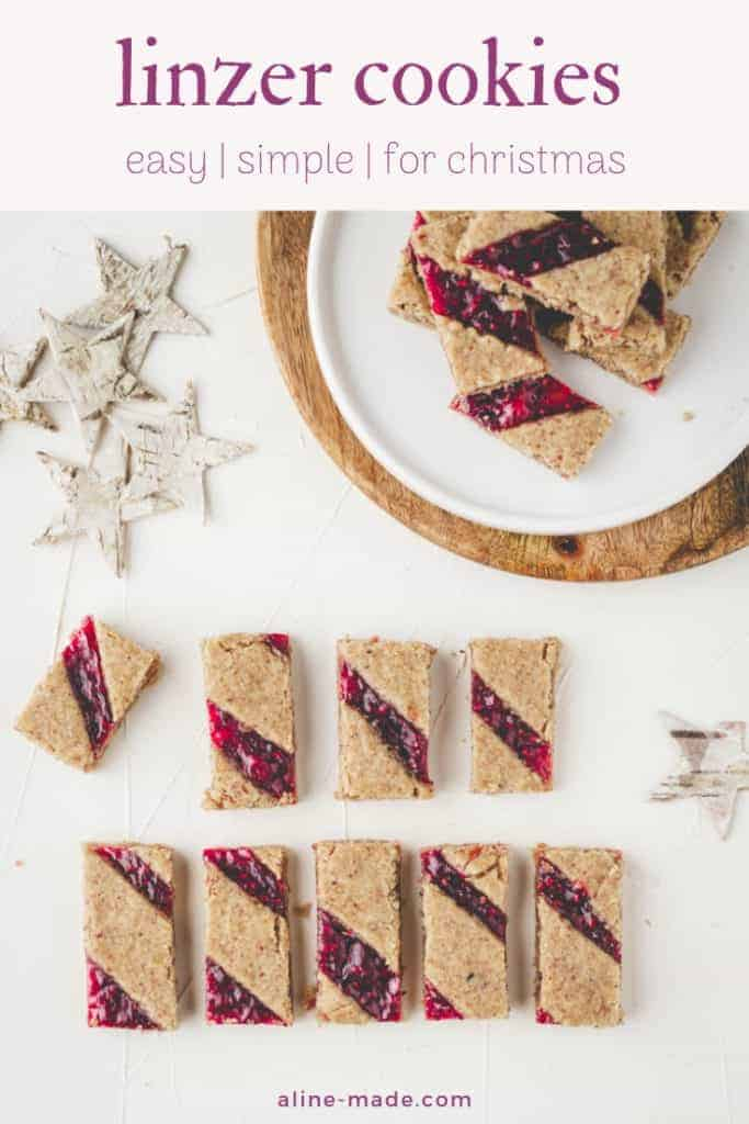 Best Linzer Cookies Recipe For Christmas Aline Made