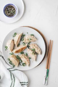 Vegan Dumplings with Tofu (Gyoza)