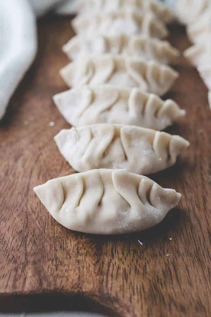 vegan dumplings recipe