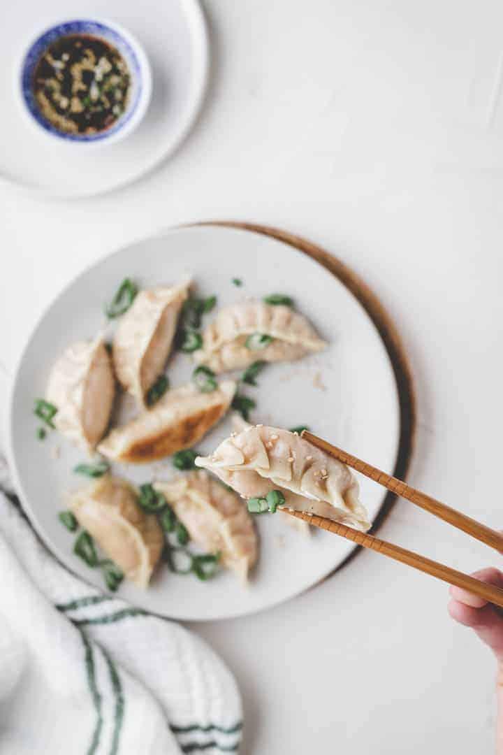 Vegan Dumplings with Tofu