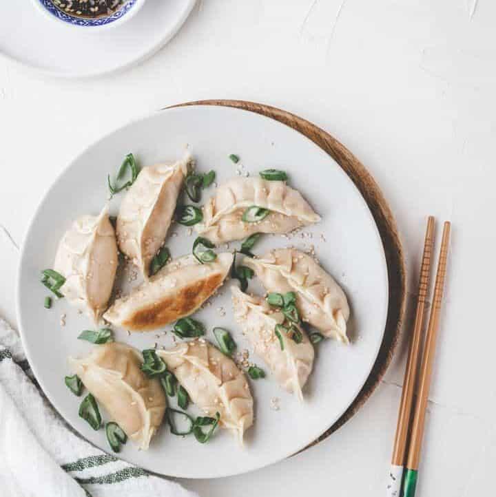 Vegan Dumplings with Tofu (Gyoza)