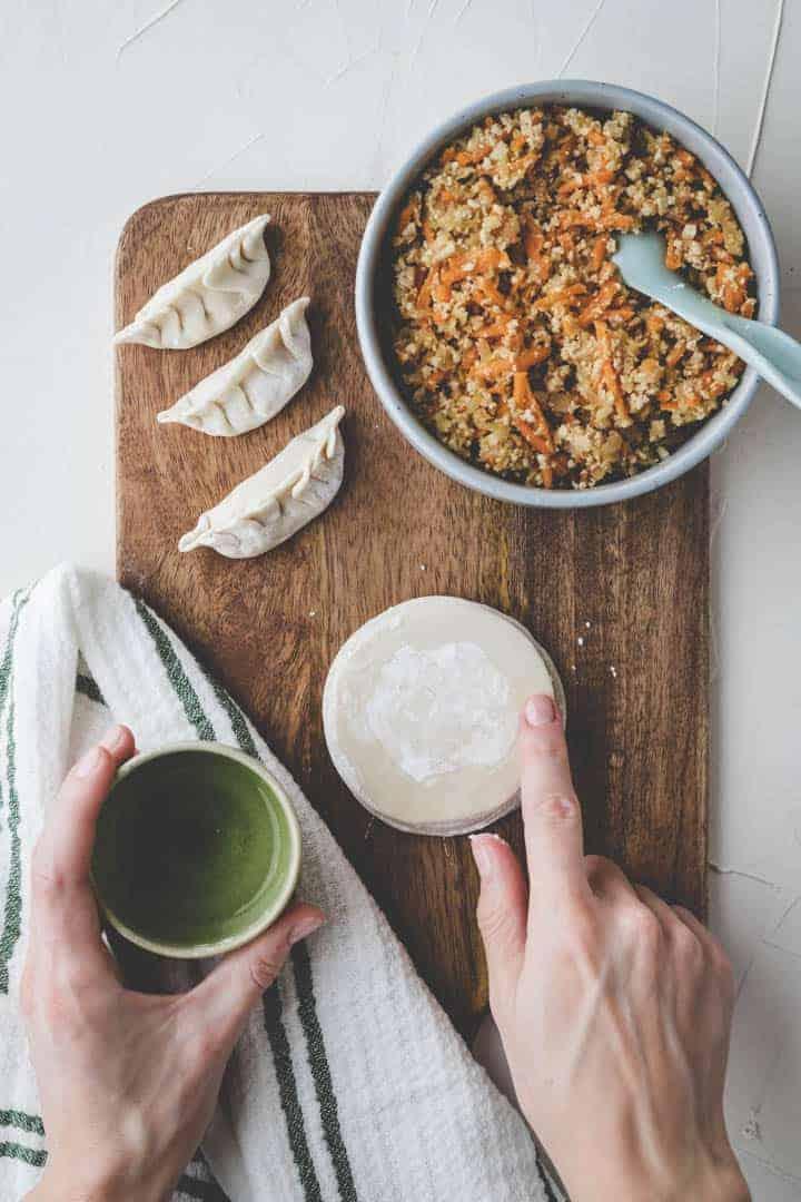how to make homemade dumplings