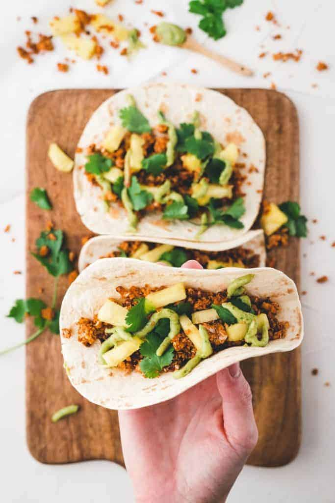 vegan taco filling