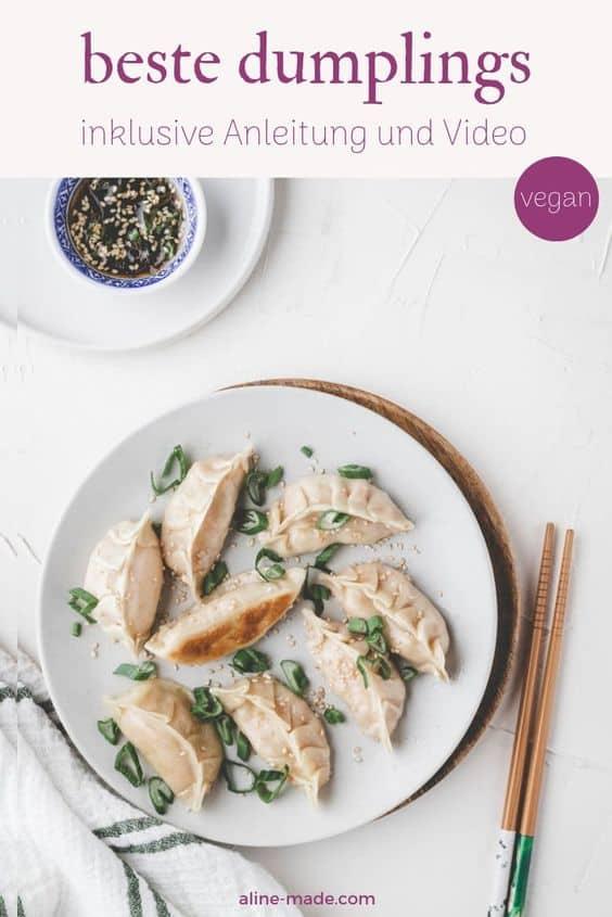 vegane dumplings pinterest