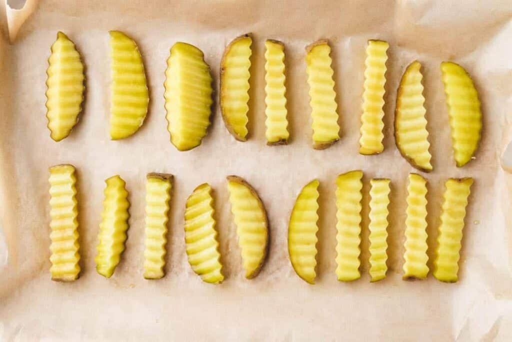 Homemade Baked French Fries Step-5