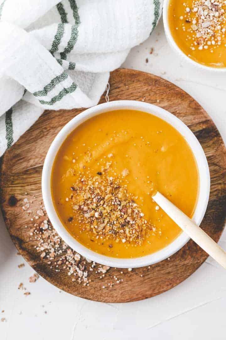 carrot ginger soup vegan