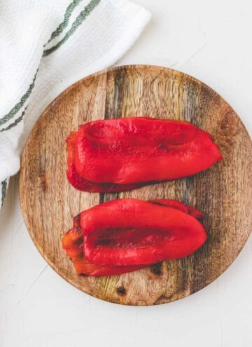 paprika häuten