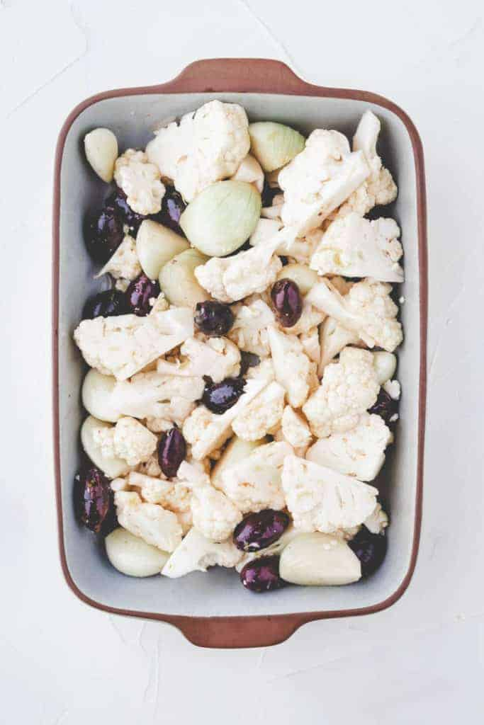 how to roast cauliflower in the oven - step 1