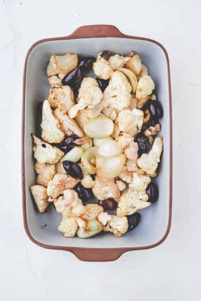 how to roast cauliflower in the oven - step 2