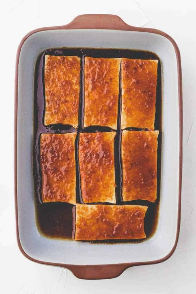 marinierter tofu für banh mi rezept
