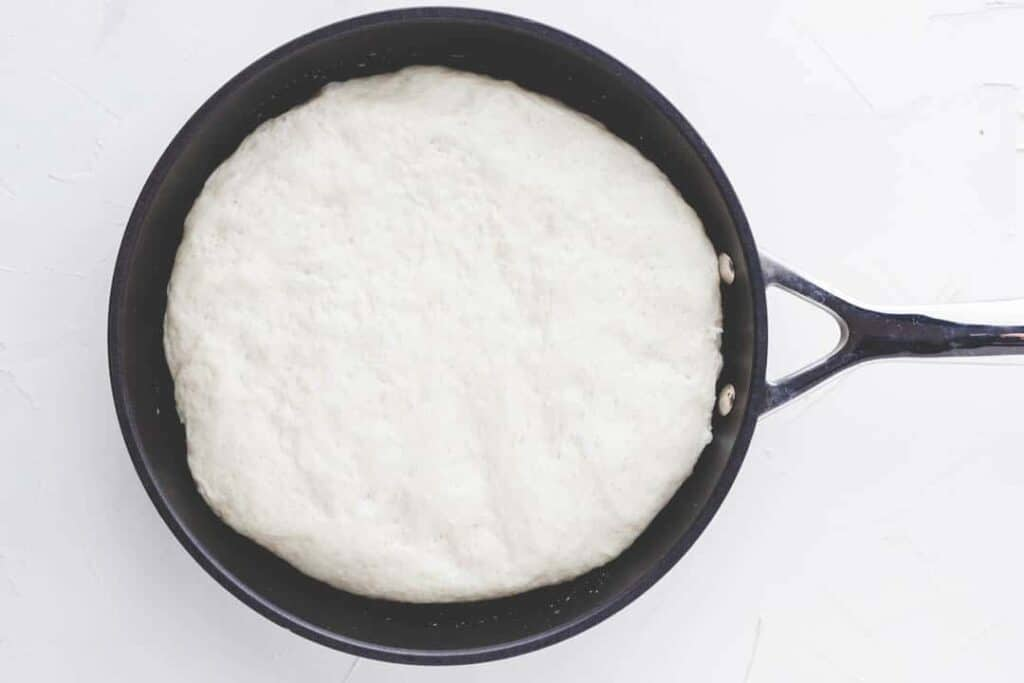 pan pizza dough recipe step 5