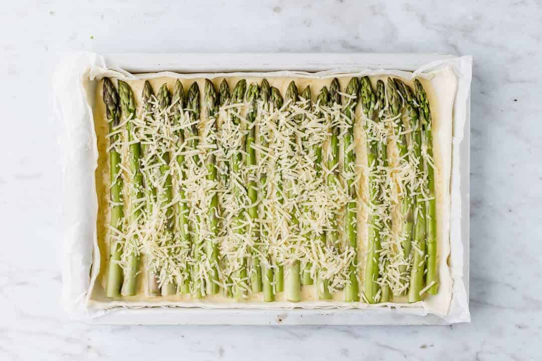 asparagus tart recipe step 6