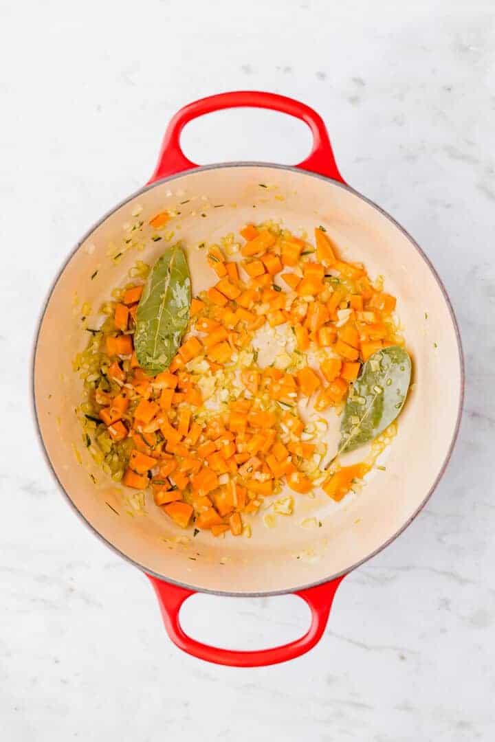 how to make lentil bolognese step 1