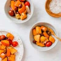 Roasted Fall Vegetables (with Pumpkin)