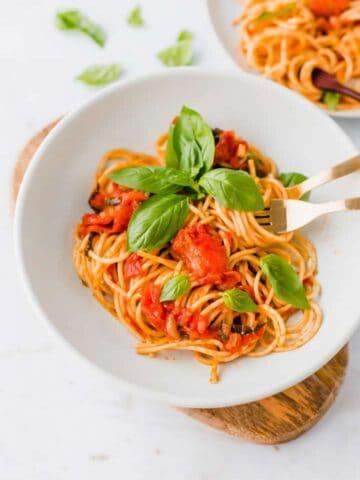 spaghetti pomodor