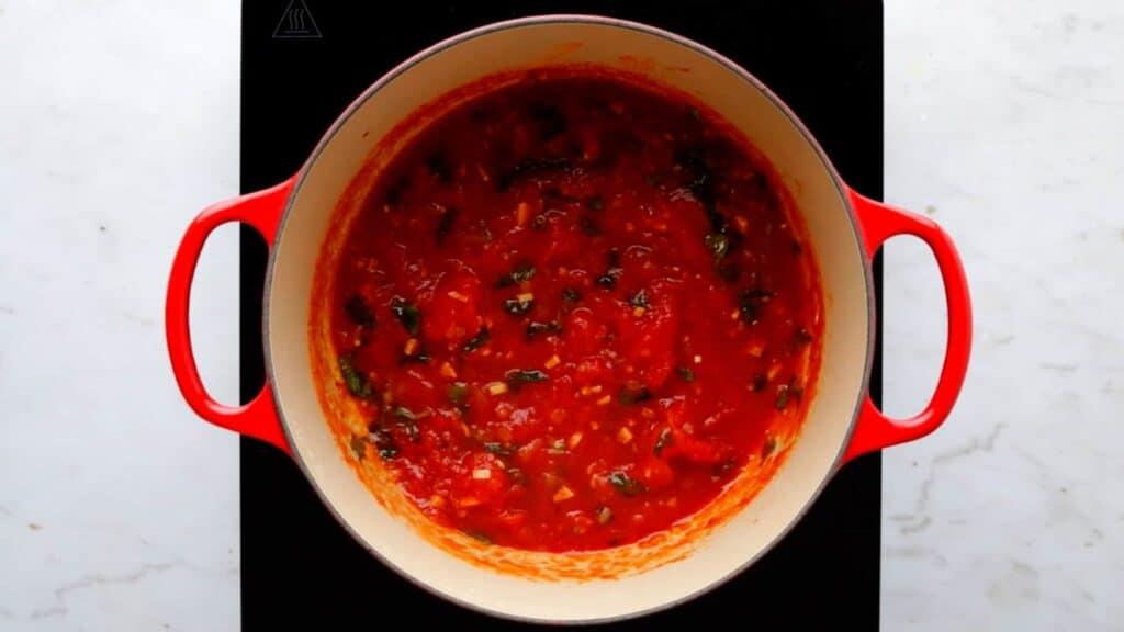 Spaghetti Pomodoro Rezept Schritt 3