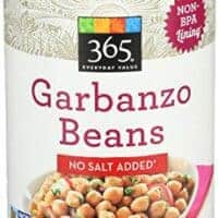 365 Everyday Value, Garbanzo Beans, No Salt Added, 15.5 oz