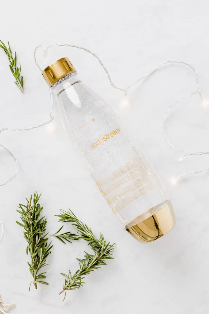 sodastream spirit gold bottle