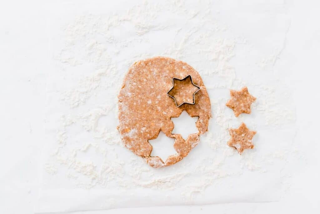 cinnamon star cookies recipe step 3