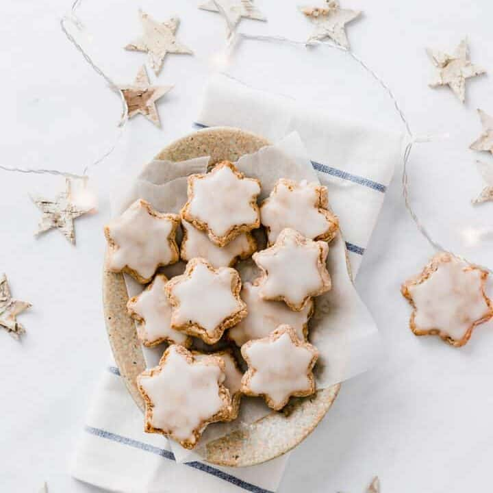 Cinnamon Star Cookies (German Zimtsterne)