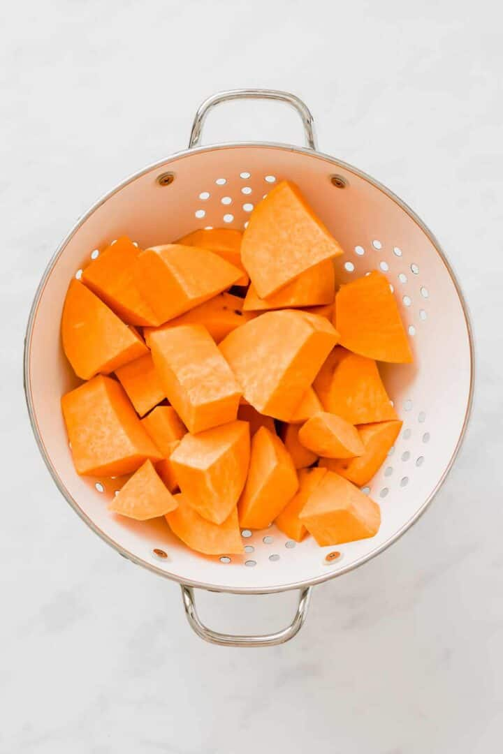 how to cook sweet potato mash step 1