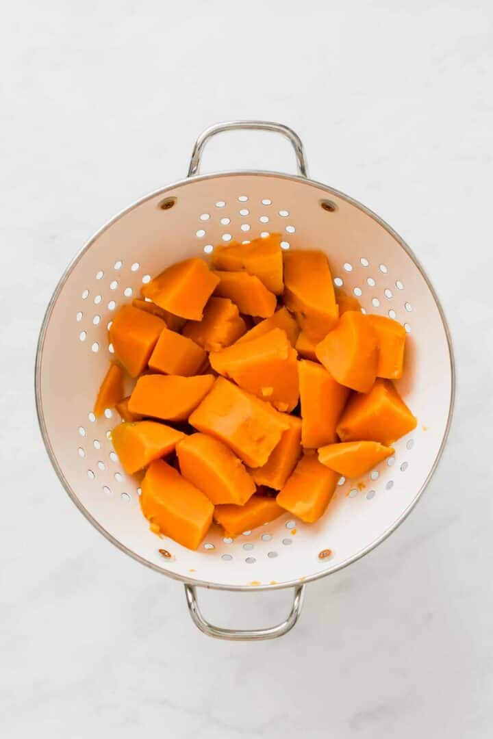 how to cook sweet potato mash step 2