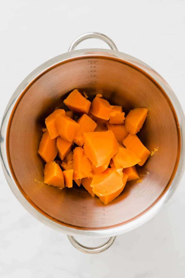 how to cook vegan sweet potato mash step 3