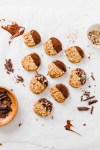 Vegan Hazelnut Slice & Bake Cookies-2