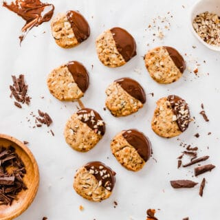 Vegan Hazelnut Slice & Bake Cookies-2