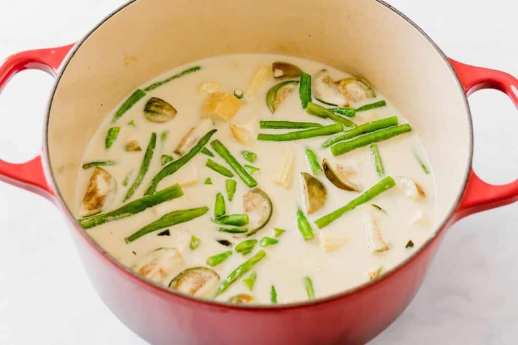 grünes thai curry rezept schritt 6