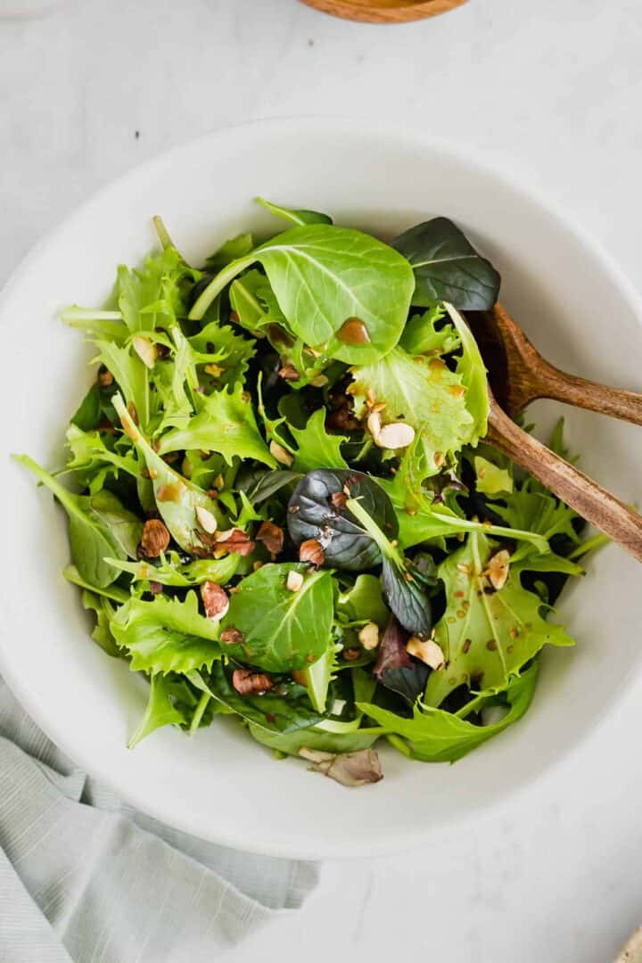 simple green salad