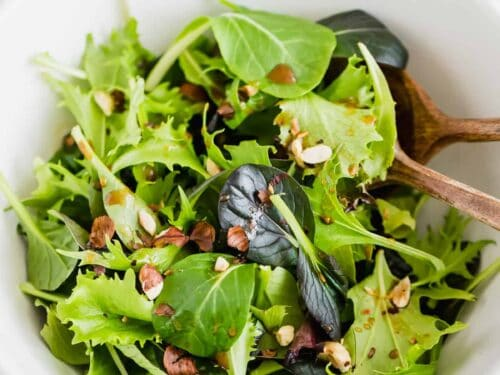Simple Green Salad My Favorite Recipe Aline Made