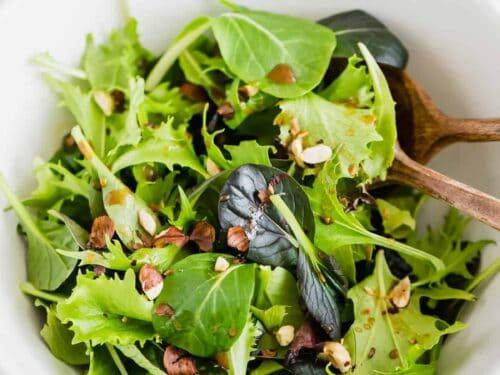 Simple Green Salad My Favorite Recipe Aline Made
